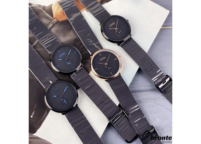 Мужские часы Chronte Bradley Black-Light Blue