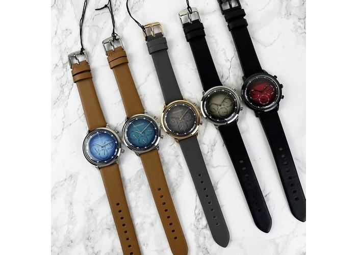Мужские часы Guardo 012430-1 Brown-Silver-Blue