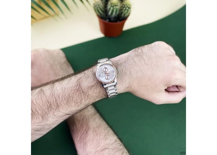 Женские часы Guardo 011944-4 Silver-Cuprum-White