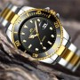 Мужские часы Megalith 0037M Silver-Gold-Black