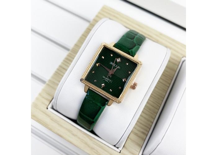 Женские часы Bolun 5598L Green-Cuprum