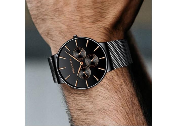 Часы Мужские часы Megalith 0047M-6 All Black