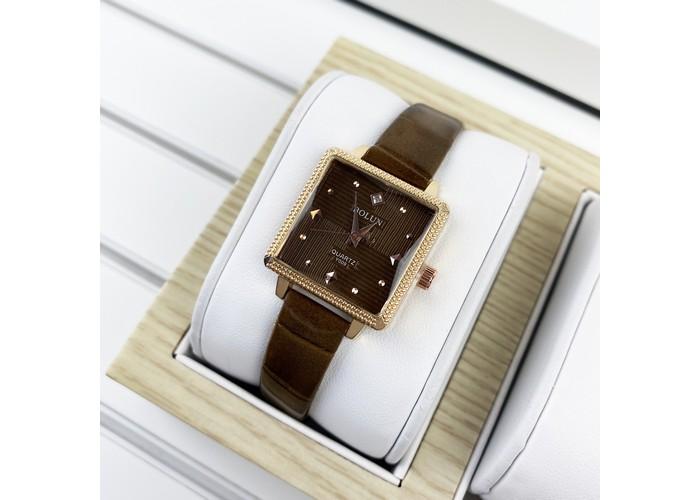 Женские часы Bolun 5598L Brown-Cuprum