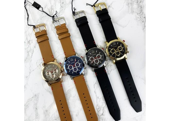 Мужские часы Guardo 11253-2 Brown-Silver-Blue