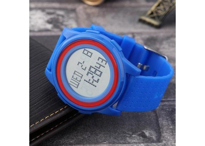 Женские часы Skmei 1206 Blue-Red