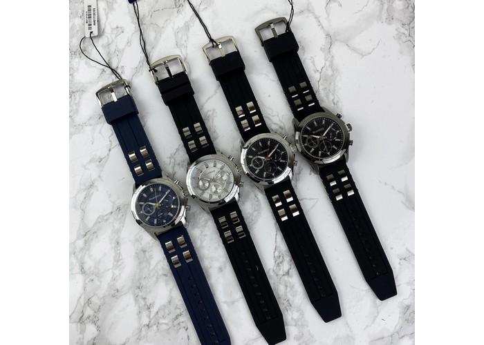 Мужские часы Guardo B01113-1 Black-Silver