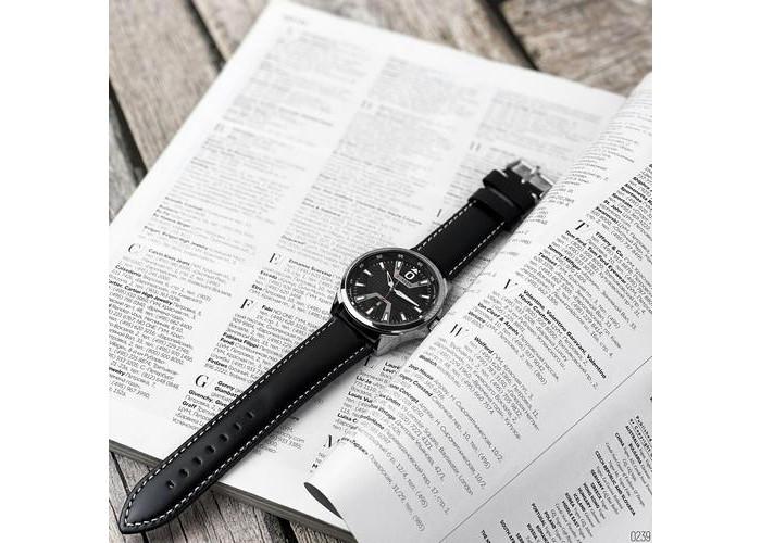 Мужские часы Curren 8379 Silver-Black