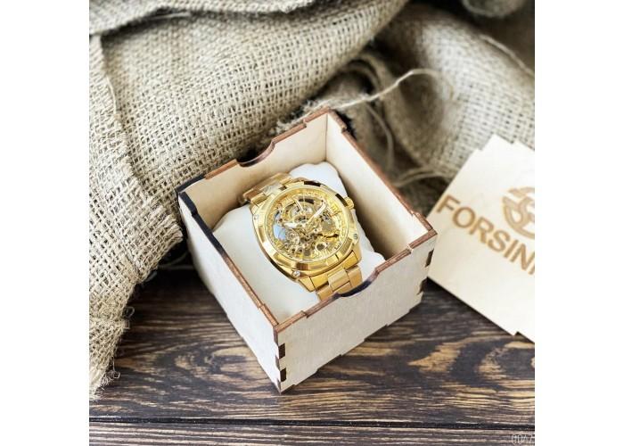 Мужские часы Forsining 1091 All Gold