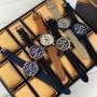Мужские часы Guardo 011097-5 Black-Blue