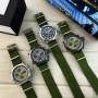 Мужские часы AMST 3003 Black-Green Green Wristband