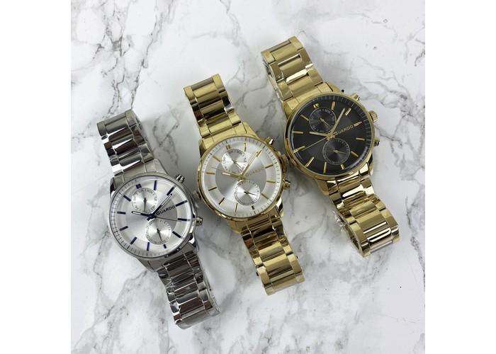 Мужские часы Guardo B01068-6 Gold-White