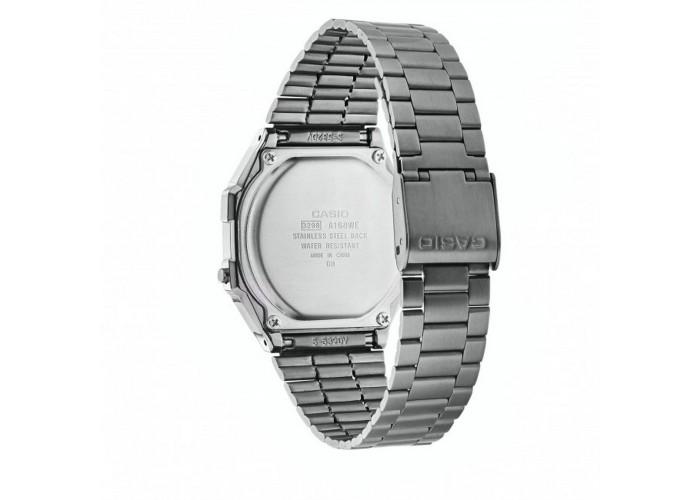 Мужские часы Casio A168WEGG-1AEF All Black