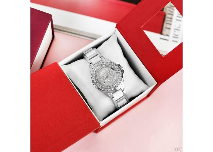 Женские часы Bee Sister 1490 Silver-White Diamonds