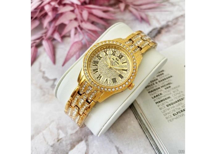 Женские часы Bee Sister 1501 All Gold Diamonds