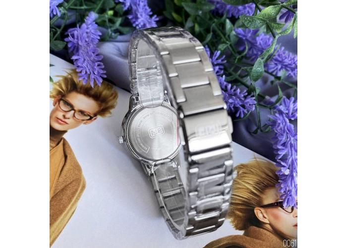Женские часы Mini Focus MF0226L Silver-White Diamonds