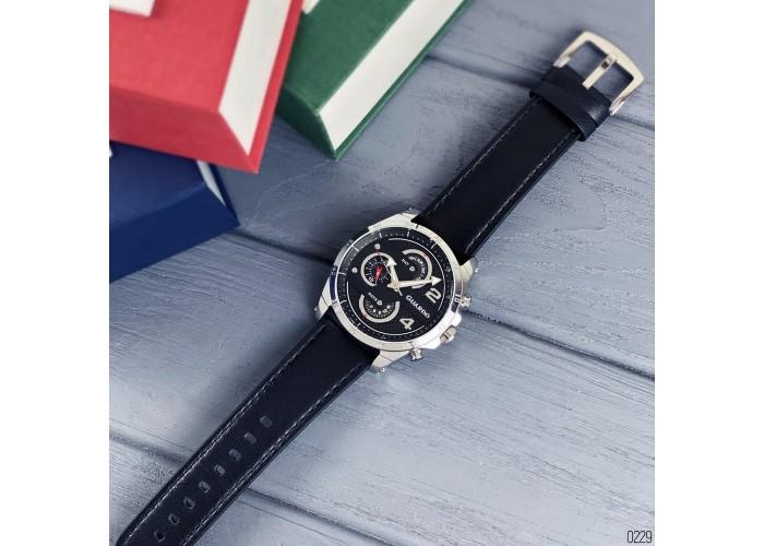 Мужские часы Guardo B01318-1 Black-Silver