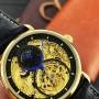 Мужские часы Forsining 1125 Gold-Black