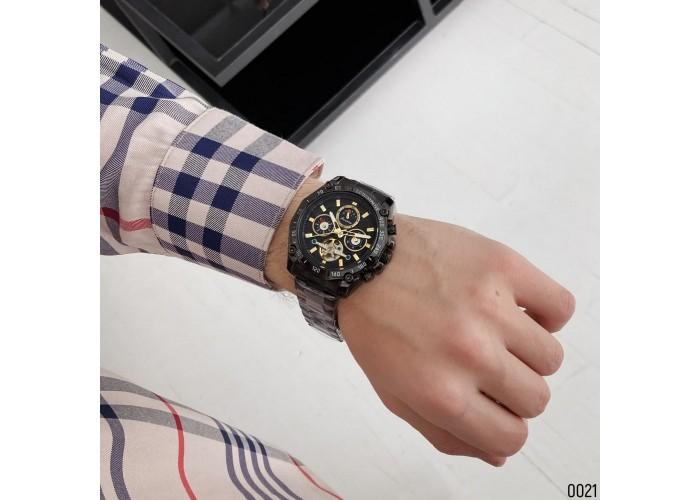 Мужские часы Forsining 6913 All Black
