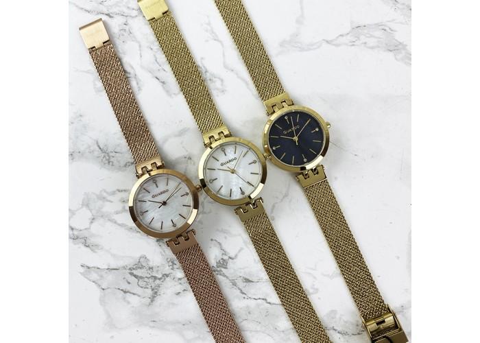 Женские часы Guardo B01947-5 Gold-White