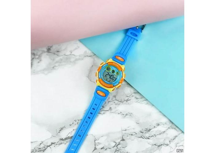 Женские часы Skmei 1451 Blue-Yellow