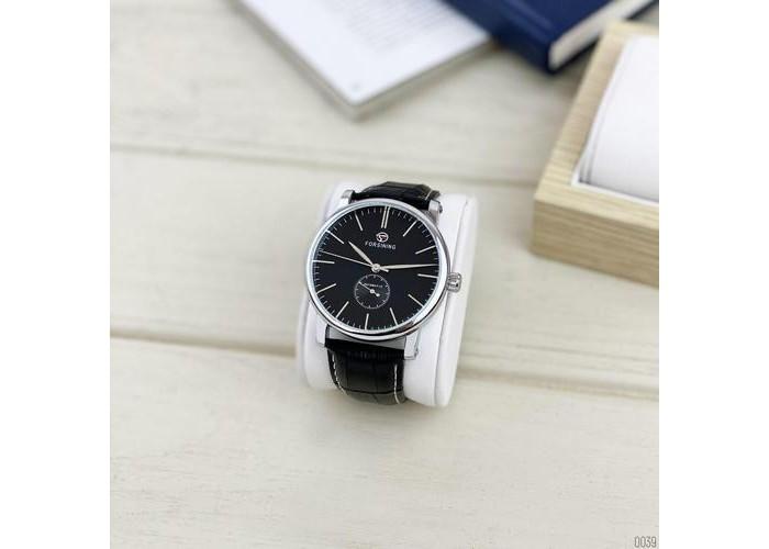 Мужские часы Forsining 1164 Silver-Black