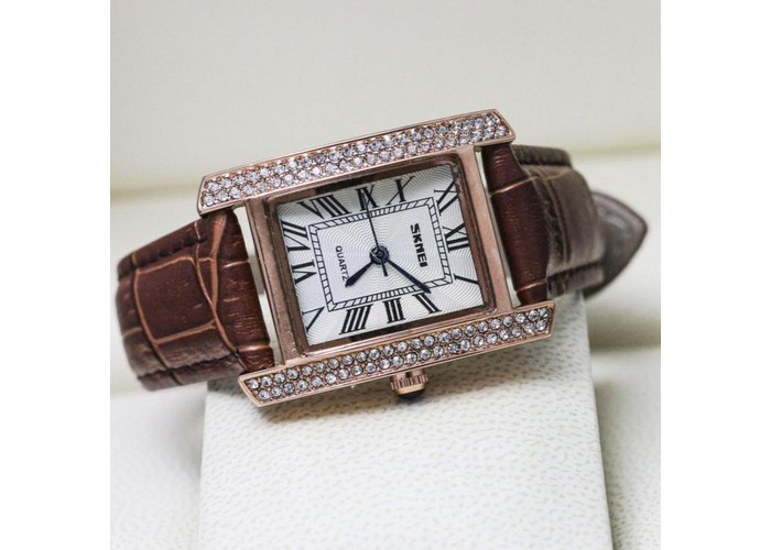 Женские часы Skmei 1281 Brown-Cuprum