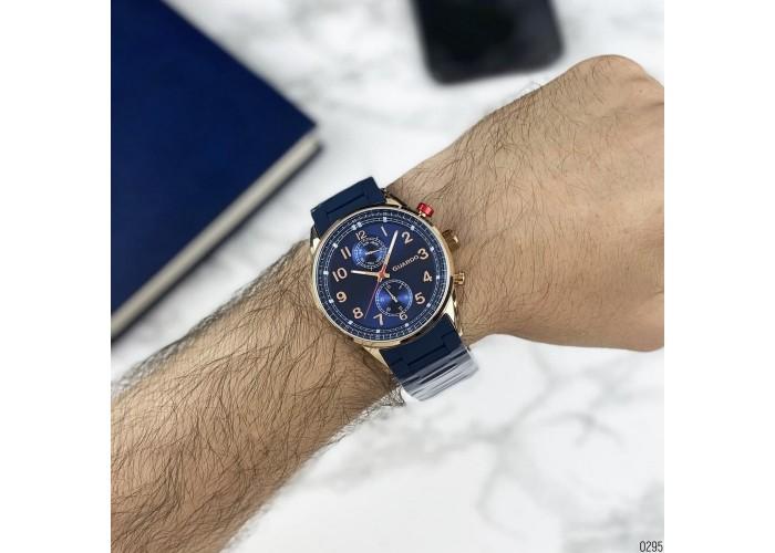 Мужские часы Guardo 11269-5 Blue-Cuprum