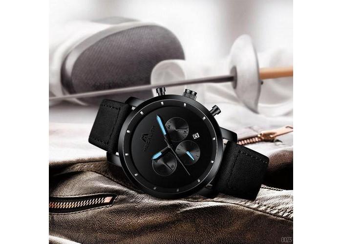 Мужские часы Megalith 8021MA All Black