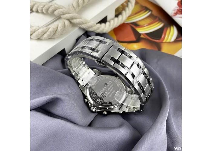 Мужские часы Guardo S01797-3 Silver-Gold