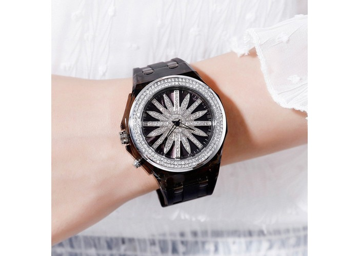 Женские часы Skmei 1536 Black-Silver
