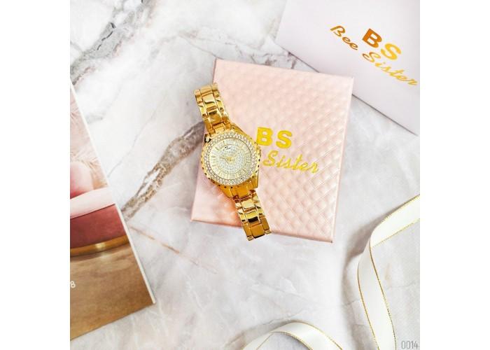 Женские часы Bee Sister 0280 All Gold Diamonds