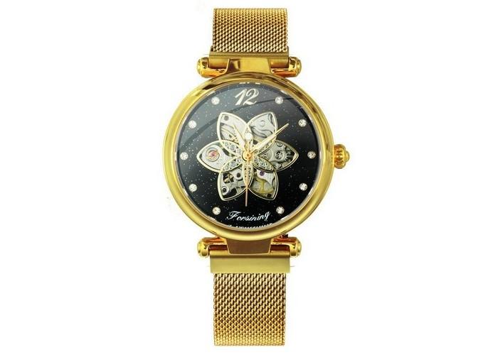 Женские часы Forsining 1171 Gold-Black