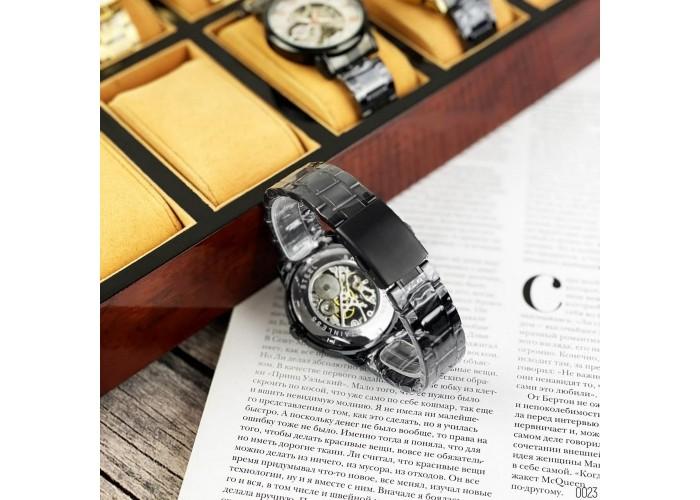 Мужские часы Chronte 412C Black-Gold