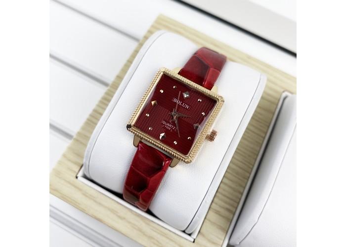 Женские часы Bolun 5598L Red-Cuprum