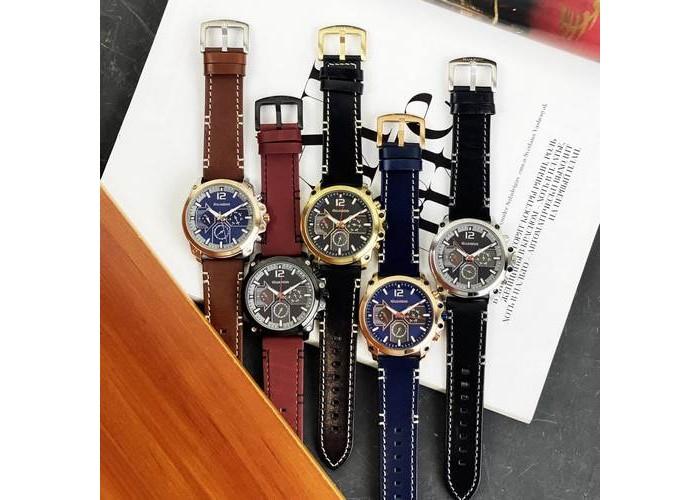 Мужские часы Guardo 011998-4 Blue-Cuprum
