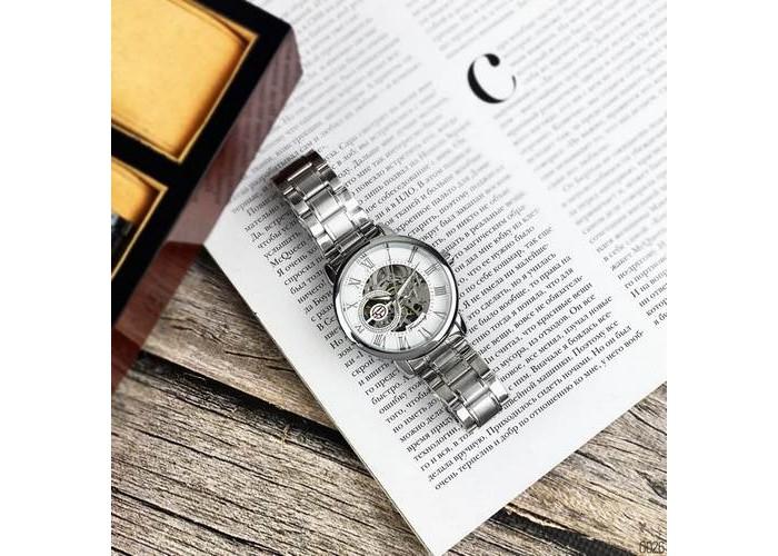 Мужские часы Chronte 412C Silver-White