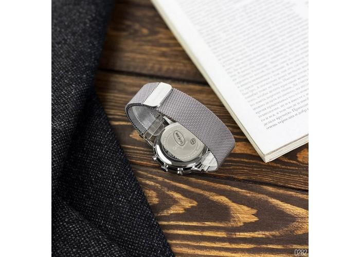 Мужские часы Guardo 012015-2 Silver-White