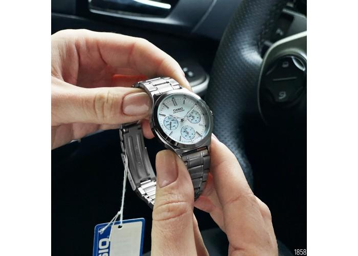 Женские часы Casio LTP-V300D-2AUDF All Silver