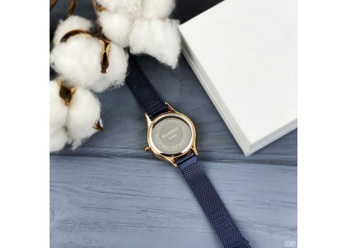 Женские часы Guardo 011636-4 Blue-Cuprum