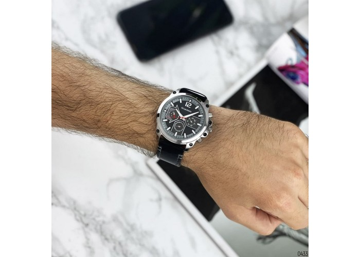 Мужские часы Guardo 011998-1 Black-Silver-Gray