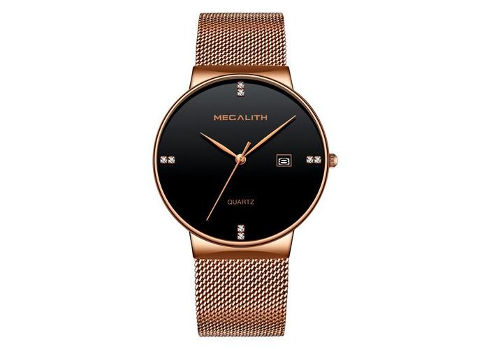 Женские часы Megalith 0047M-3 Cuprum-Black Diamonds
