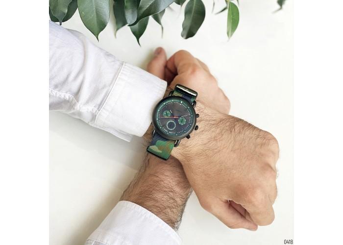 Мужские часы Guardo 11146-3 Green-Black
