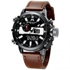 Мужские часы Megalith 8229M Brown-Silver-Black
