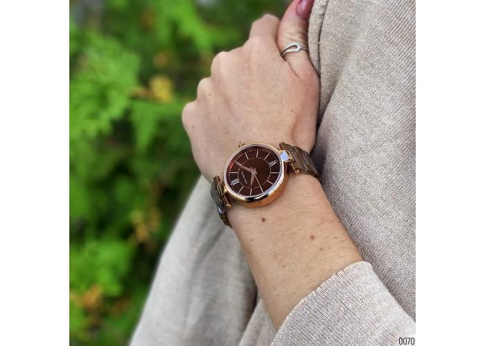 Женские часы Mini Focus MF0189L Brown-Cuprum