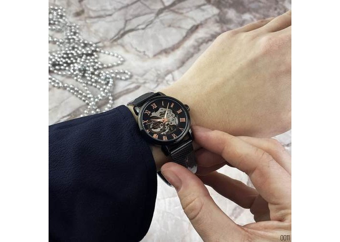 Женские часы Chronte 412 Black-Cuprum