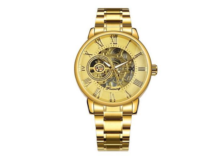 Мужские часы Chronte 412C All Gold