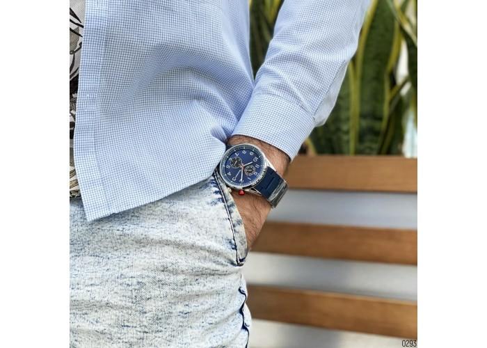 Мужские часы Guardo 11269-2 Blue-Silver