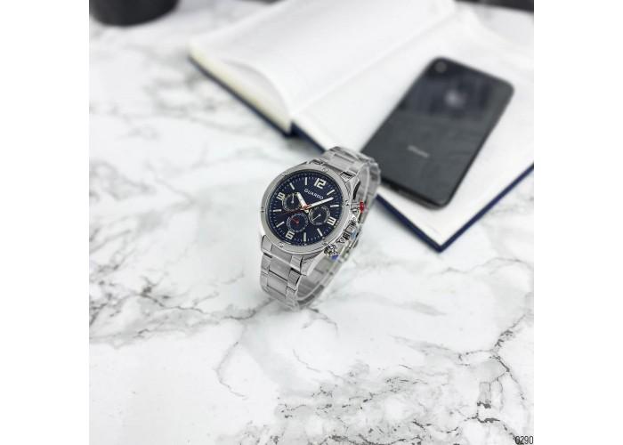 Мужские часы Guardo 11455-3 Silver-Blue