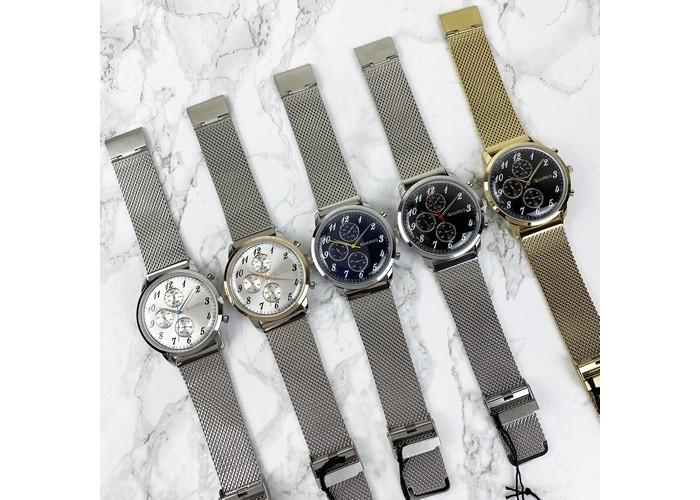 Мужские часы Guardo 012238-3 Silver-Blue