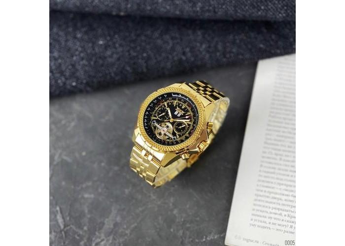 Мужские часы Jaragar 048 Gold-Black